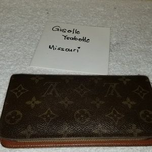LV zippy long wallet authentic